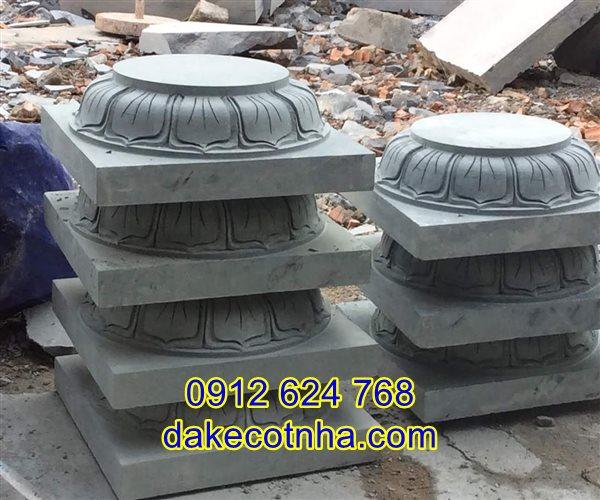 Bán đá kê chân cột đẹp giá rẻ tại Thái Nguyên