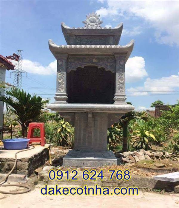 Địa chỉ xây miếu thờ thủy thần bằng đá tại An Giang, miếu thờ thủy thần