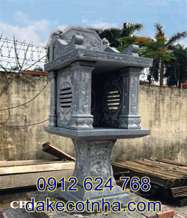 Cách xây miếu thờ thành hoàng mang lại bình yên cho dân làng MT3, miếu thờ thành hoàng bằng đá