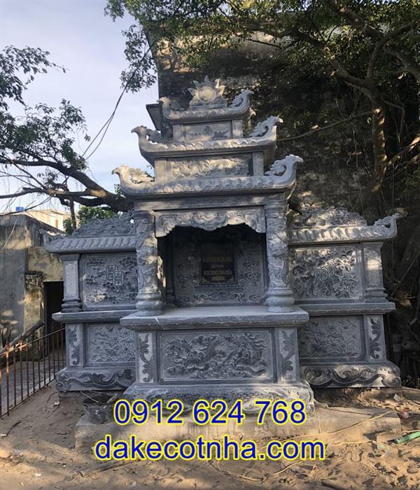 Xây miếu thờ thần linh bằng đá đẹp tại An Giang, xây miếu thờ đẹp tại an giang