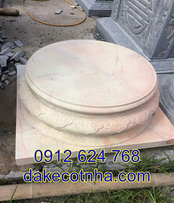 Địa chỉ bán đá kê cột nhà gỗ đẹp giá rẻ tại Hà Nội
