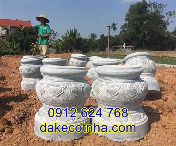 Địa chỉ bán đá kê chân cột đẹp tại Hà Nội
