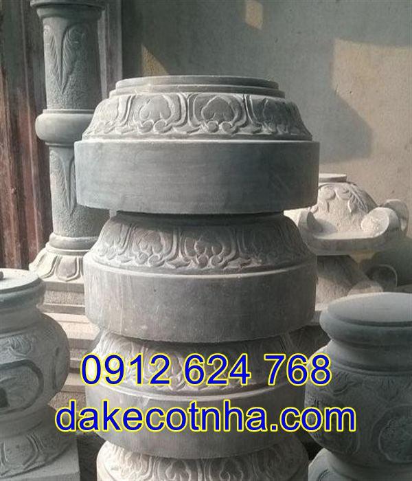Địa chỉ bán chân cột tròn bằng đá đẹp giá rẻ tại Hà Nội, chân cột đá tại Hà Nội