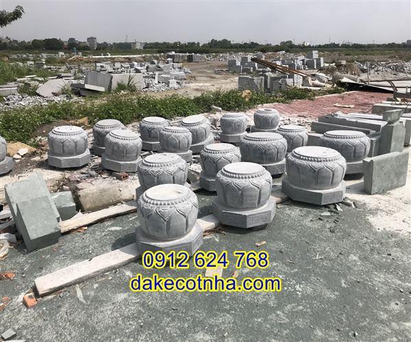 Địa chỉ bán đá kê chân cột nhà gỗ đẹp giá rẻ uy tín tại Bắc Ninh