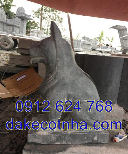 Mẫu tượng chó đá phong thủy đẹp giá rẻ nhất tại Ninh Bình