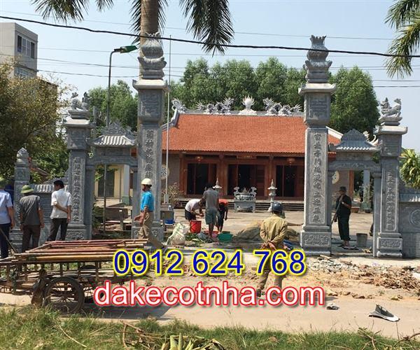 Địa chỉ làm cổng đền đẹp