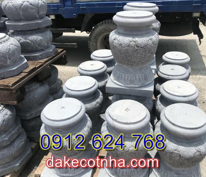 Bán đá kê cột nhà uy tín tại Lâm Đồng,Mẫu đế kê cột nhà thờ họ