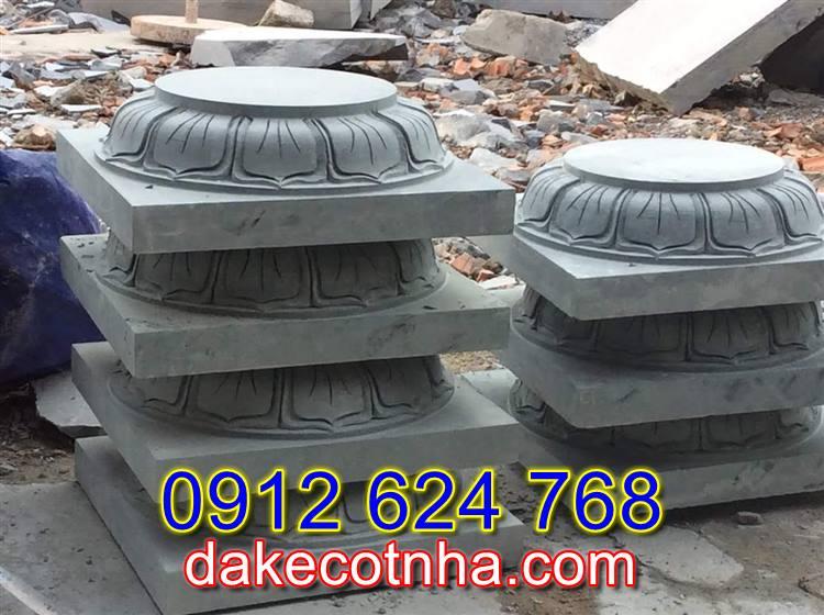 Bán đá kê chân cột nhà gỗ tại Vĩnh Long,chân tảng đá tại Vĩnh Long