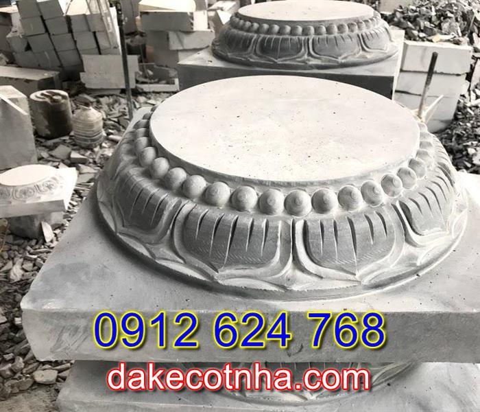 Bán đá kê chân cột uy tín tại Lâm Đồng,Mẫu chân tảng đá đẹp