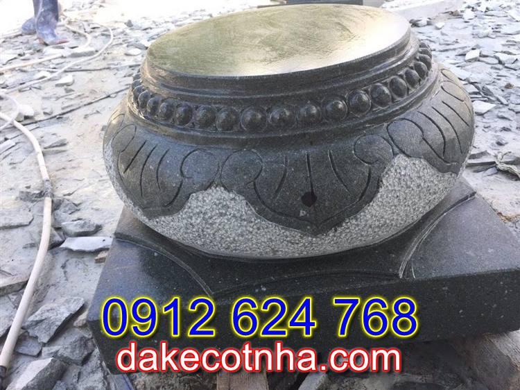 Bán đá tảng kê cột nhà tại Yên Bái,đế kê cột nhà bằng đá tại yên bái