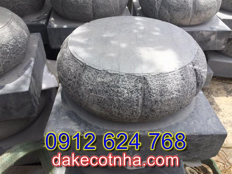 Bán đế kê cột nhà bằng đá tại Thanh Hóa, đá kê cột nhà thờ họ tại Thanh Hóa