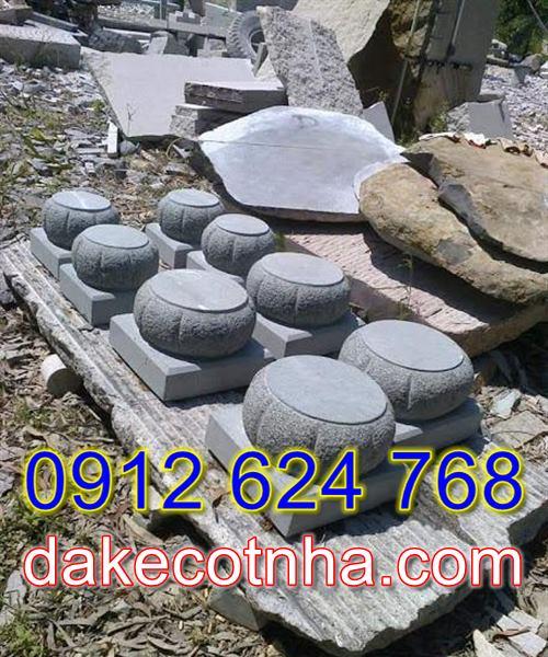 Bán mẫu đá kê cột tròn uy tín tại Lâm Đồng,chân cột nhà đẹp tại lâm Đồng