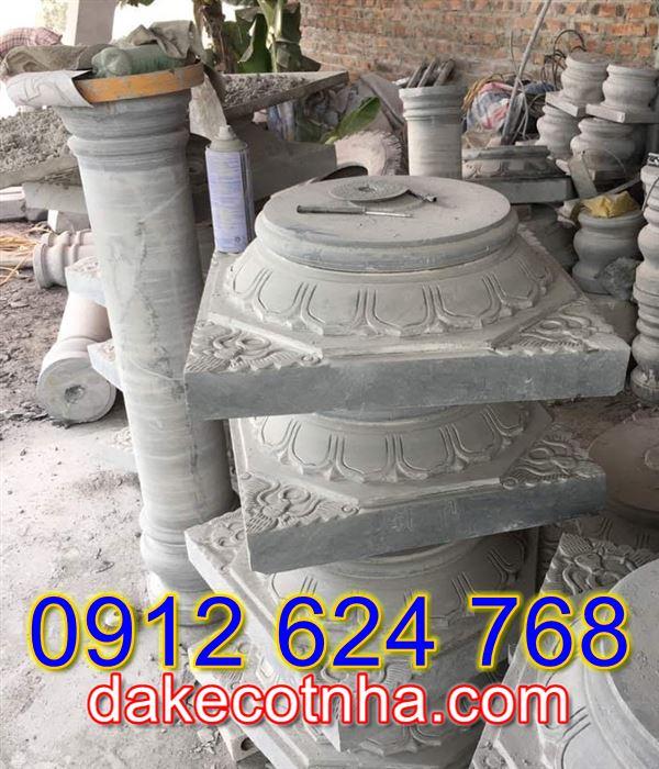 Bán mẫu đá tảng kê cột tròn đẹp tại Thanh Hóa,chân đế kê cột tại Thanh Hóa