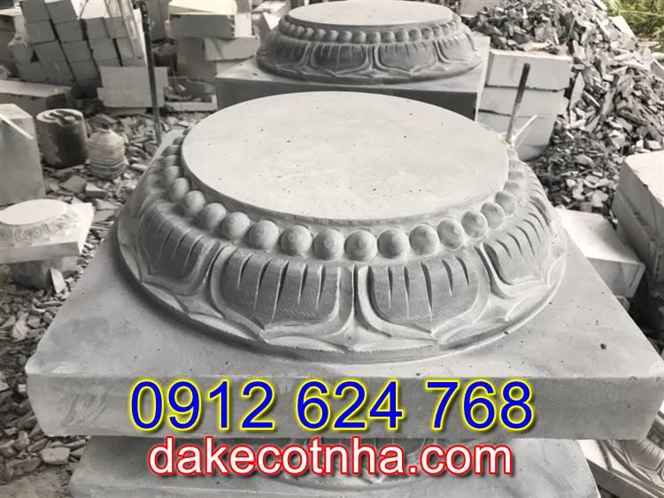 Bán mẫu đá tảng kê cột tròn đẹp tại Vĩnh Long