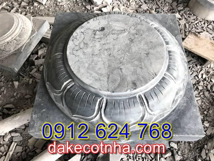 Bán mẫu đá tảng kê cột tròn đẹp tại Vĩnh Phúc,đế kê cột nhà tại Vĩnh Phúc