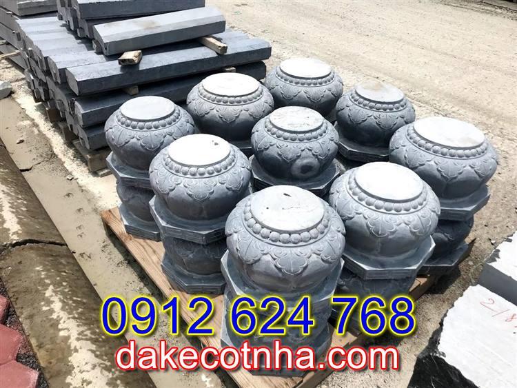 Bán mẫu đá tảng kê cột tròn đẹp tại Yên Bái