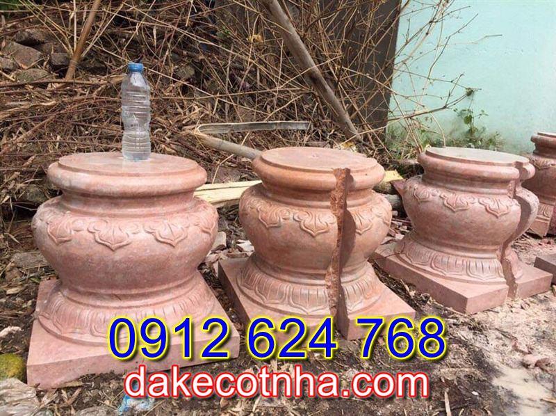 Bán mẫu chân cột đá đẹp tại Thanh Hóa,đế kê cột nhà đẹp bằng gỗ tại Thanh Hóa