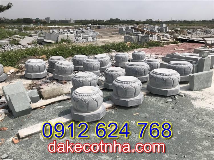 Bán mẫu chân cột đá đẹp tại Vĩnh Long, mẫu đá kê cột nhà đẹp tại Vĩnh Long