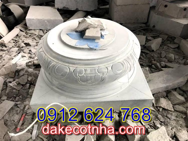 Bán mẫu chân tảng đá đẹp tại Vĩnh Phúc,đôn kê cột tại Vĩnh Phúc