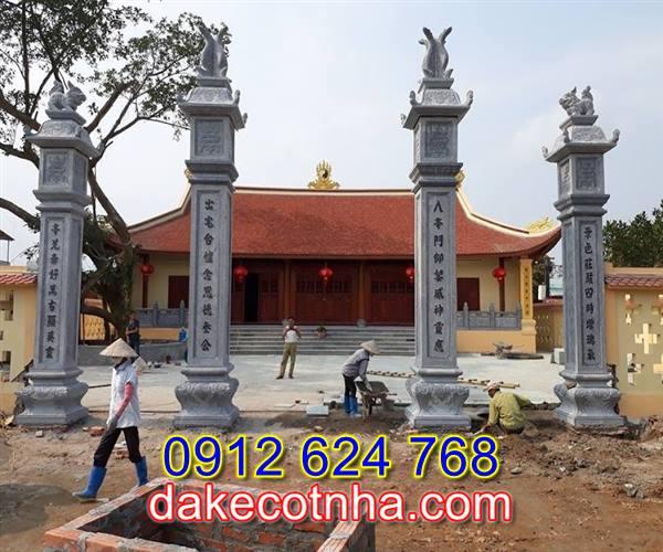 Làm cổng chùa bằng đá tại Bắc Ninh,làm cổng tam quan đá tại Bắc Ninh