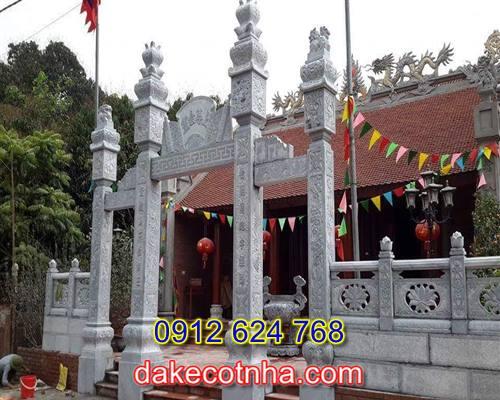 Làm cổng chùa bằng đá tại Hưng Yên,mẫu cổng chùa bằng đá tại Hưng Yên