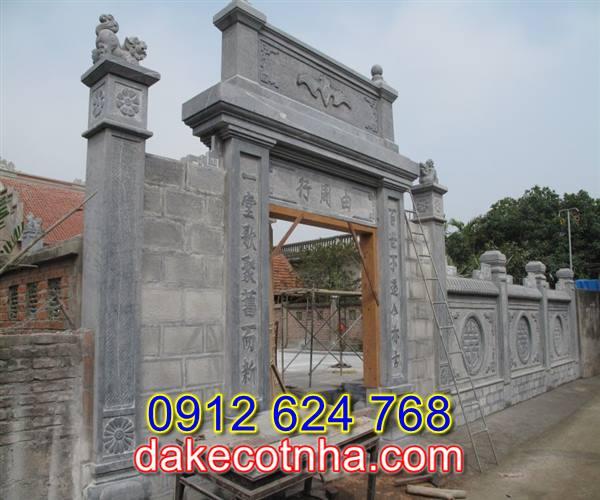 Làm cổng nhà thờ bằng đá tại Vĩnh Phúc, mẫu cổng nhà thờ bằng đá tại Vĩnh Phúc