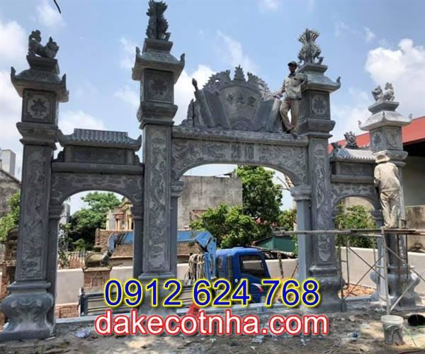 Làm mẫu cổng nhà thờ tộc đẹp tại Hà Nội, mẫu cổng từ đường tại Hà Nội